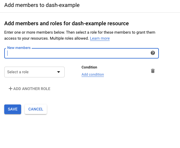 Add Member Roles to Project in GCP